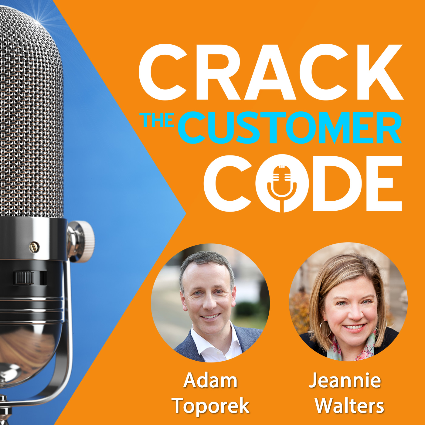 Crack the Customer Code Podcast Cover Art