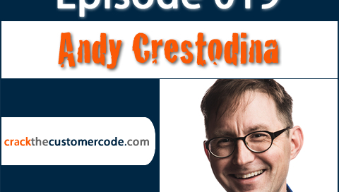 Andy Crestodina of Orbit Media | Crack the Customer Code Podcast Interview