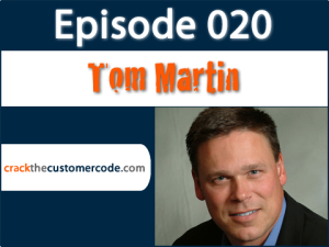 Tom Martin, author of The Invisible Sale | Podcast Interview