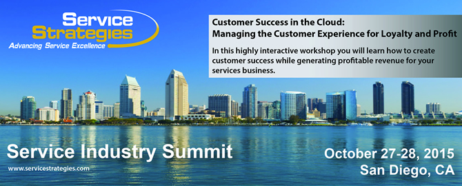 Service Strategies Service Industry Summit