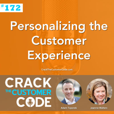 Personalizing the Customer Experience