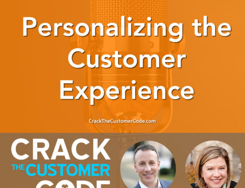 172: (Tip) Personalizing the Customer Experience