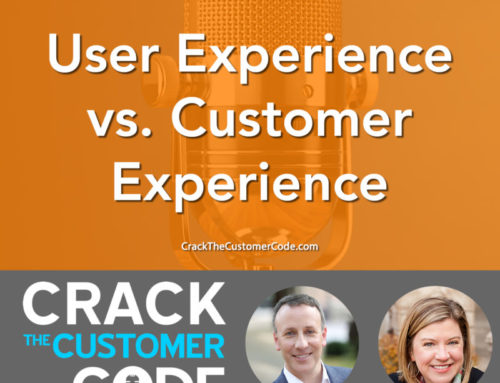 201: (Tip) User Experience vs. Customer Experience