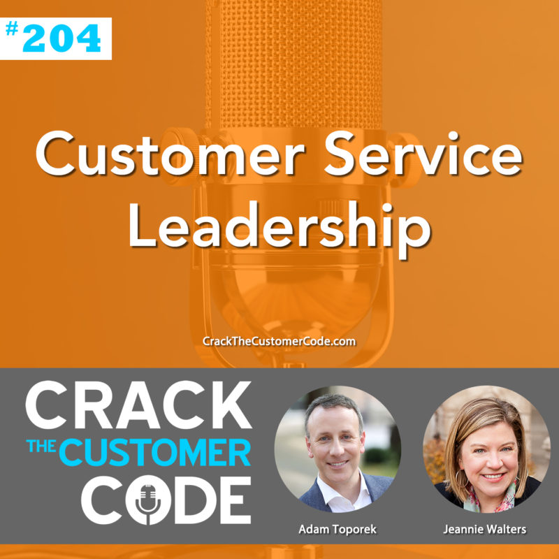 customer service leadership
