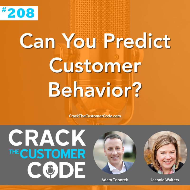 predict customer behavior