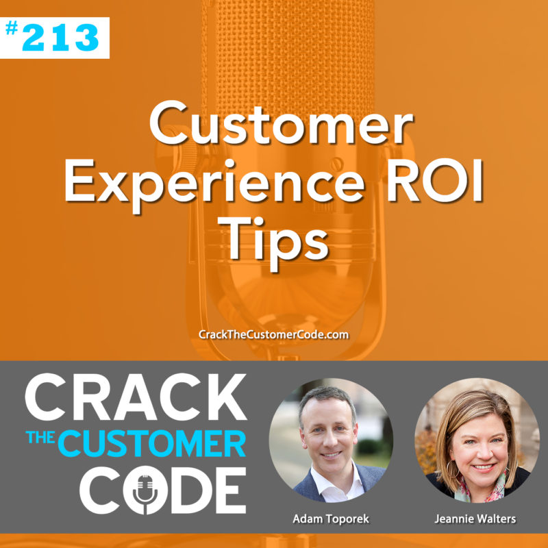 Customer Experience ROI