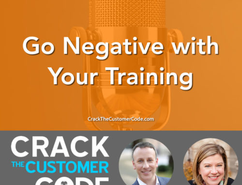 275: (Tip) Go Negative with Your Training