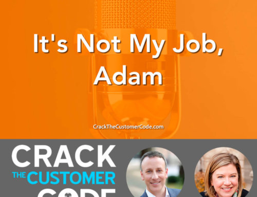 307: It's Not My Job, Adam