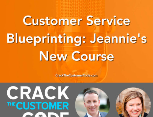 358: Customer Service Blueprinting: Jeannie's New Course